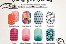 My nail art designs for #jamsforjames / Nail wraps designed with Jamberry Nail Art Studio for @tentenjams—a fundraiser for cureAHC.org. Get yours now! http://bit.ly/2bwF6qL