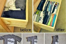 Clothing Organization / Keep tidy ideas