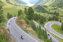 Motorradparadies Nauders am Reschenpass / Die Region rund um den Reschenpass ist ein wahres Motorradparadies. Zahlreiche, kurvenreiche Gebirgspässe im Dreiländereck sorgen für Spaß und Spannung in der Bikerszene.