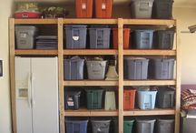 Garage storage ideas / New house  / by Marie Brand