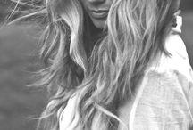 Summer beach inspired hair