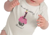 Sweet Baby Tees / Cute Baby T-shirts - Unique custom tshirts designed especially for babies and toddlers.  Each whimsical tee design is available on your choice of shirt style and can be customized and personalized with names or other text.
