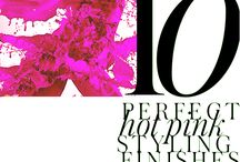 10 HOT PINK TOUCHES