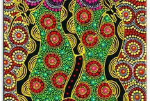 Australian Aborignal / Australian Dreamtime..art, stories and creation