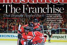 Um Hello... Hawks  / Chicago Blackhawks and hockey love / by Evan Washington