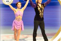 Meryl Davis & Charlie White / Olympic figure skating / by Mary Elizabeth (Aunt Sissy) Cooper
