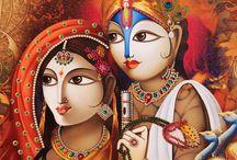 Hindu Gods / Jewellery Designing Art on Gods Photo