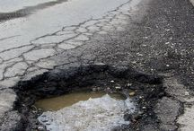 PotholeLandia / How many bent axles and flat tires will it take before things get better?