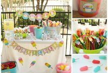 Parties / Ideas for parties with popsicles