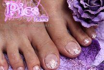 Manicure e Pedicure / Gli scatti di alcuni dei migliori lavori realizzati da Pics Nails con Smalto Tradizionale, Smalto Semipermanente o Gel Unghie...per mani e piedi sempre curati, eleganti e femminili.