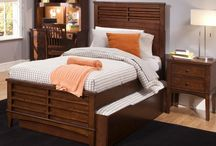 Youth Beds, Bunk Beds, & Daybeds / Youth beds come in two sizes a twin and a full. Some of the youth bedding may have a queen size available, call for details. These youth beds have several different finishes, styles, and options for adding trundles, storage under bed, and different colors to choose from. Check out these multi-functional bunk beds with storage, stairs, drawers, and desk with matching chairs. Daybeds are great for children, guest, or any extra space.