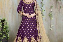 2668 Aanaya 38000 Mullberry Silk Salwar Kameez