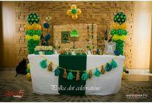 princess Fiona party #shrek / www.polkadotcelebrations.com