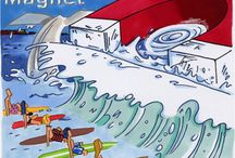Surf Magnet / This is a section of my SteamyR webstore @ http://www.zazzle.com/my/products/public/cg-196292359957409915/sr-250581215866385095 / by Steamy Raimon