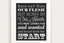 Gift Ideas For New Adoptive Parents / Beautiful new ideas for parents who have recently adopted.
