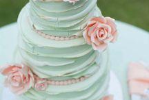 Mint Green Wedding Cakes