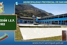 Obras Públicas 2012 / Obras ejecutadas por la Municipalidad Provincial de San Miguel Año 2012