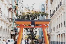 """#BellasArtesBilbao Torii / Torii tradicional japonesa para la exposición """"arte Japonés y Japonismo"""" en el museo de Bellas Artes de Bilbao"""