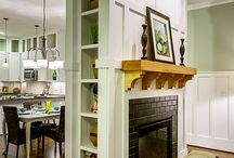 Fireplaces for small areas