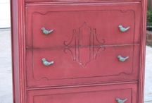 glazing furniture for antique look