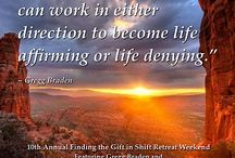 The 10th Annual Gift in Shift Retreat Weekend with Gregg Braden / by Kathleen Malone
