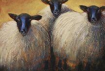 СИМВОЛ 2015 Года (ОВЦЫ, КОЗЫ) / Овцы, козы, ягнята и прочее....
