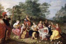Myth instrument / Instrumentos e Mitologia na Pintura