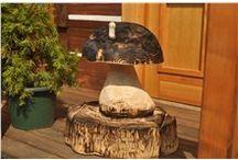 Dřevěné sochy / Nabízíme vyřezávané sochy ze dřeva motorovou pilou a sochy zvířat ze dřeva.