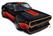 car renderings