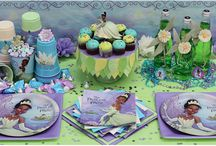 Tiana princess party