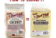 Coconute & Almond Flour Recipes
