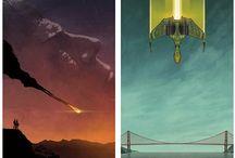 Sci Fi/Cyberpunk/Post Apocalyptic