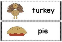 Thanksgiving / Thanksgiving activities for speech and language therapy.