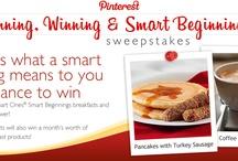 #SmartOnesSweeps / Smart Ones by Weight Watchers!