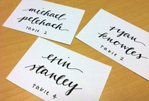 The Name Cards.