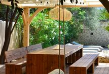 Jardin côté hamac