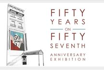 50 on 57th Steet / Celebration & Exhibition at Wally Findlay Galleries New York, October 2014  http://www.wallyfindlay.com/main/new-york/