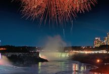 Niagara Fireworks & Illumination / Our Nightly Illumination & Weekly Firework display is a must see when staying with us.  Check out the schedule to make the most of your visit to Niagara Falls. http://www.super8niagarafalls.com/niagara-falls-fireworks.php
