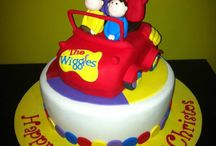 The Wiggles & Dorothy the dinosaur Cakes