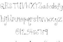 Caratteri scrittura