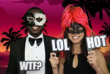 Photo Booth Fun / A selection of photos from our booth, Our photo booth service is the perfect ice breaker for any party and it really puts people in the right mood for when they hit the dance floor.