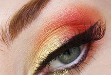 coral eyeshadow ideas