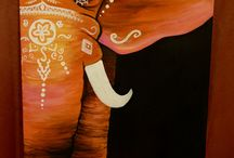 My paintings / This is how I spent my free time #painting