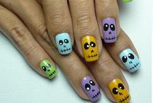 Halloween nails / by Marie Velez