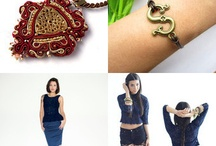Etsy Treasury Features / Love for all the Etsy treasuries featuring my creations :)