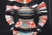 Artsy fashion optical ilusion