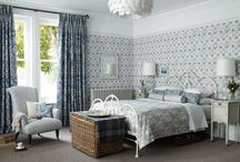 Dreamy Blues / From rich indigos to powder blues, a look through inspirational Morris fabrics, wallpapers and homeware.