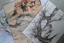 Grafikáim / Németh Andrea rajzai