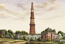 Mughal architecture paintings