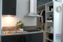 KLEIN WONEN / Studio's, appartementen en andere kleine ruimtes - zo benut je ze optimaal.